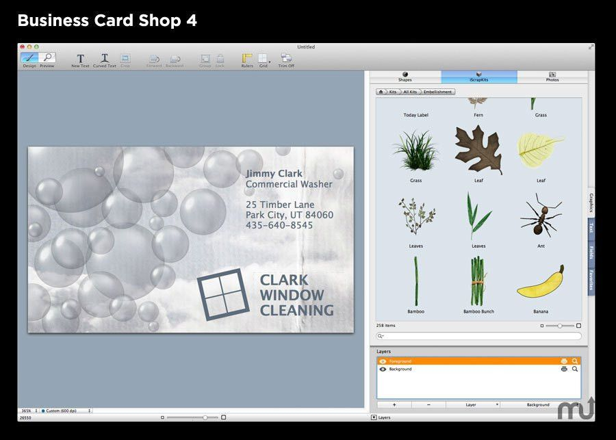Business Card Shop for Mac : Free Download : MacUpdate