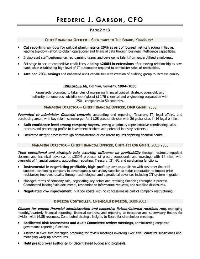 Resume Writer for CFOs | Executive Resume Writer Atlanta, Dubai ...