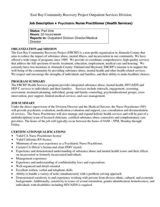 Best 25+ Registered Nurse Job Description Ideas On Pinterest .