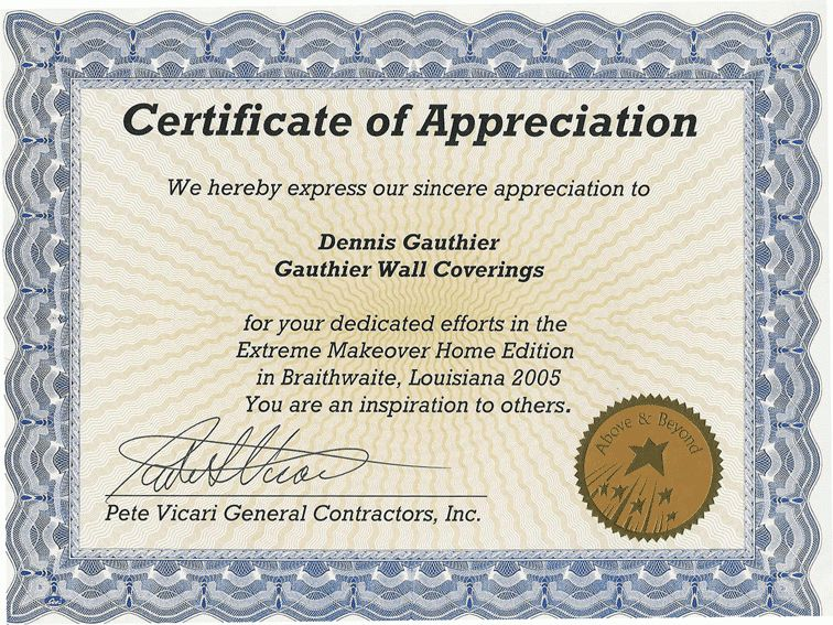 Free appreciation certificate templates for word word certificate how to make a certificate in wordreference letters words yadclub Image collections
