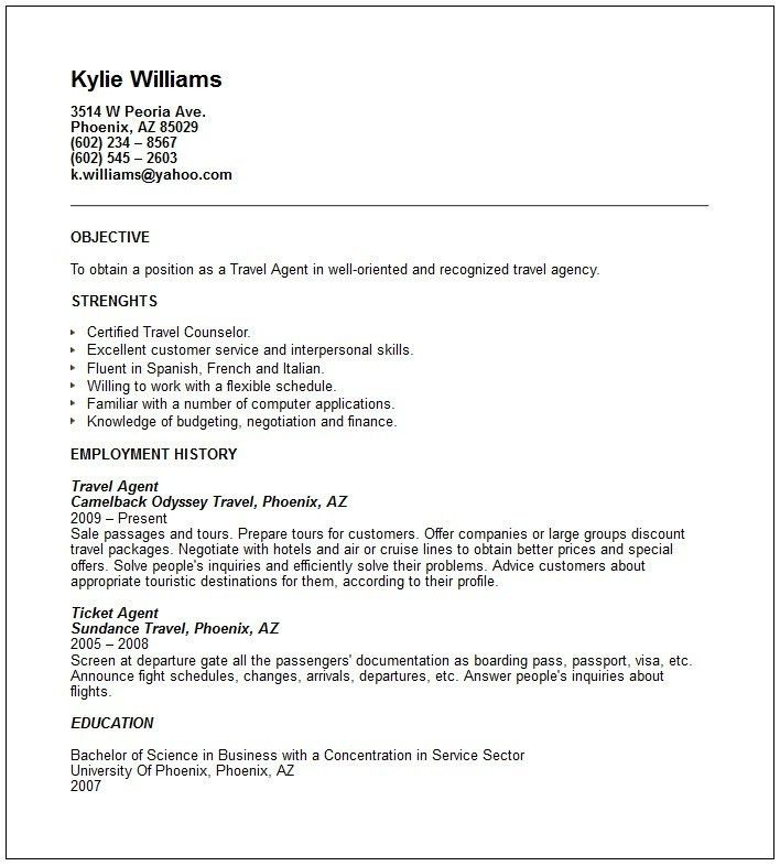 travel clerk sample resume weekly summary report template sugar ...