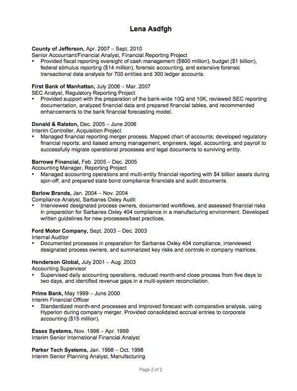 gallery of scientist resume examples scientist resume sample ...