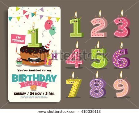 Birthday Party Invitation Stock Images, Royalty-Free Images ...