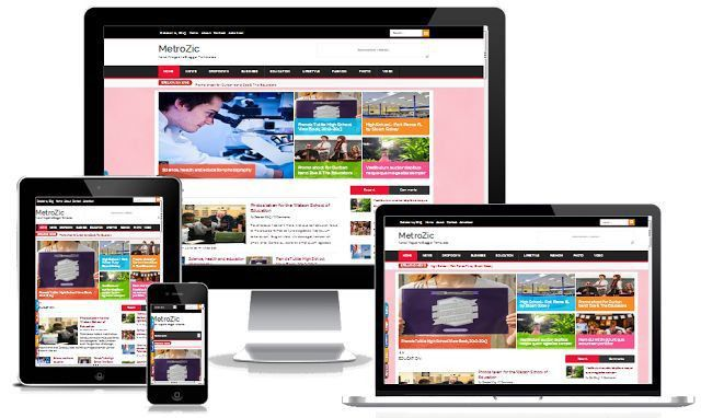 Smart News Responsive Blogger Template | Blogger Templates Gallery