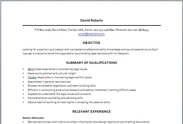 interesting inspiration legal resume format 2 resumes ...