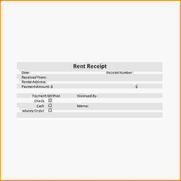 Rent Receipts Format.rental Receipt Sample 213.png - Loan ...