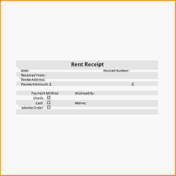 Rental Receipts 10 Free Rent Receipt Templates 10 Free Rent – Rental Reciepts
