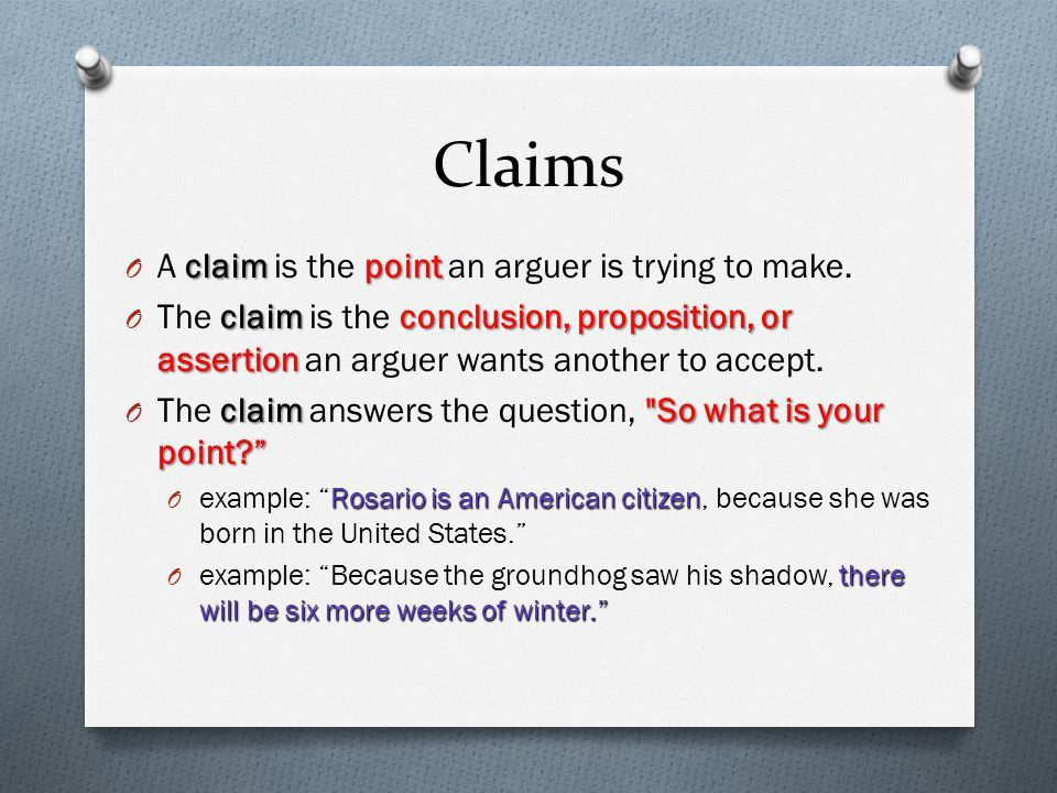 Everything's An Argument Chapter 8 The Toulmin Model - ppt video ...