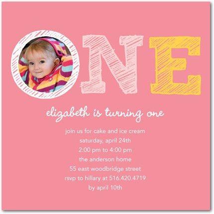 Birthday Invites: 1st Birthday Party Invitations Card Printable ...
