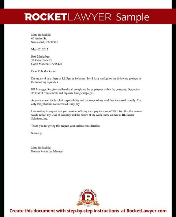 Amazing Salary Review Letter Template Ideas - Best Resume Examples ...