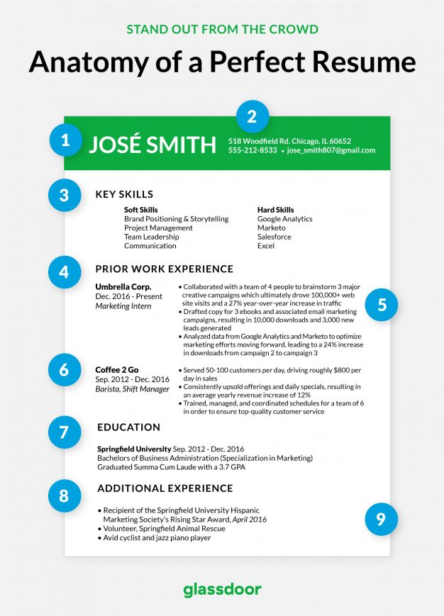 Here's What the Perfect Resume Looks Like - Glassdoor Blog