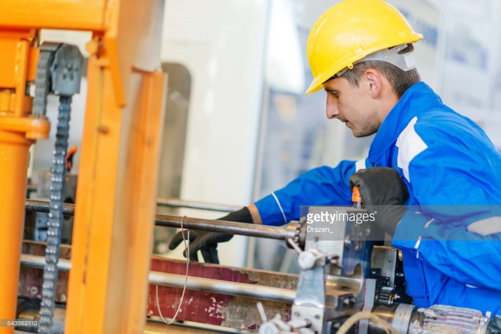 Quality Control In Packaging Production Factory Maintenance ...