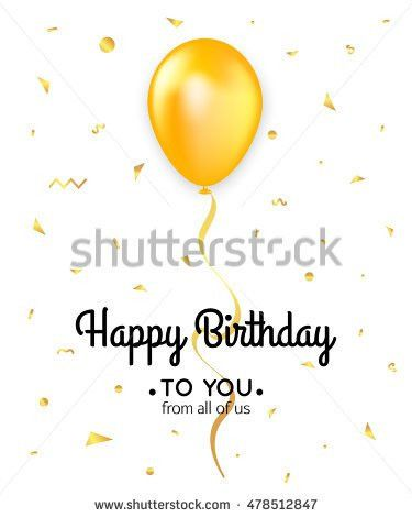 Birthday Card Template Stock Images, Royalty-Free Images & Vectors ...