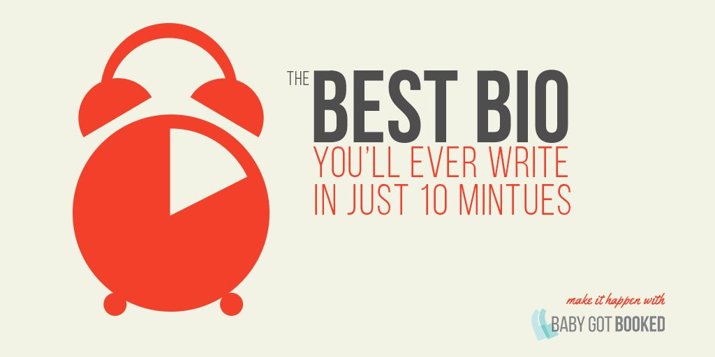 How to write a good (funny, short) bio in under 10 minutes | Geeta ...