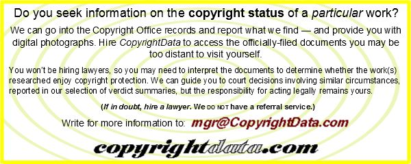 Copyright Notice - illustrations - CopyrightData.com