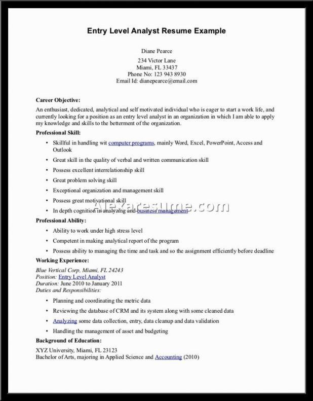 free sample objectives for resumes objective examples healthcare ...