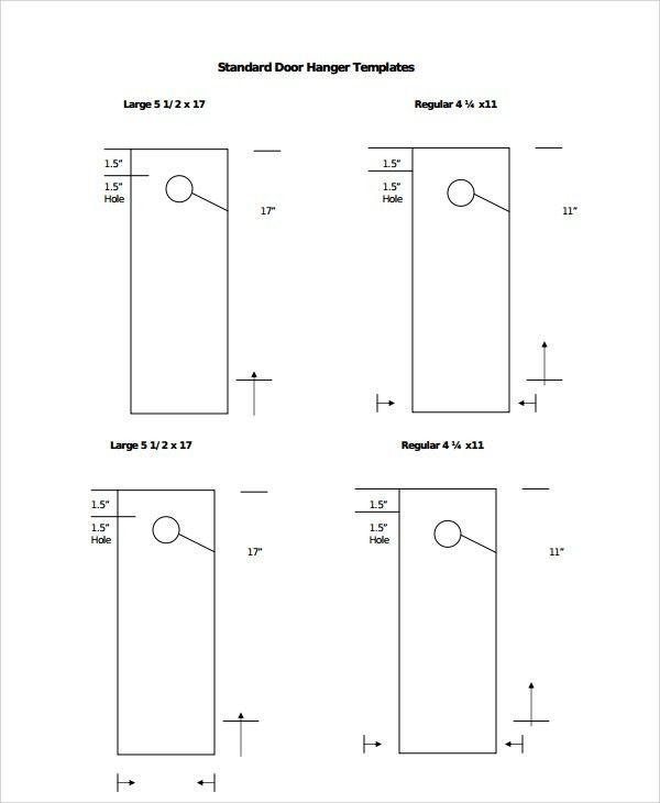 Sample Promotional Door Hangers Templates - 6+ Free Documents ...