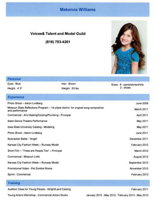 Cozy Design Modeling Resume 14 How To Prepare Or Not Prepare Your ...