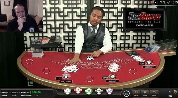 BetOnline Live Blackjack Dealer Allegedly Cheats on Camera ...
