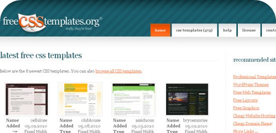 Template Free Download Html Css - Pet-Land.info