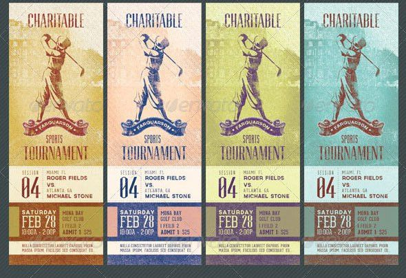 19 Useful Event Tickets Templates – Design Freebies
