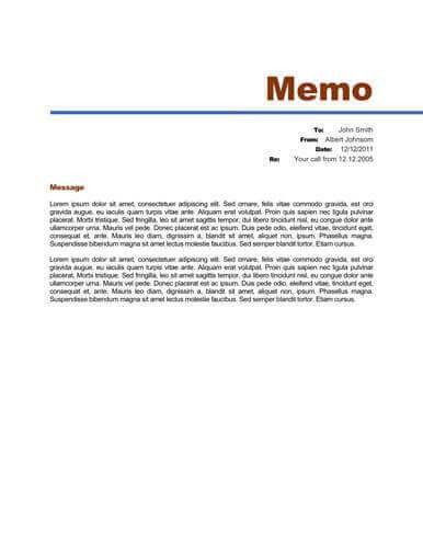 Memo Format [Bonus: 48 Memo Templates]