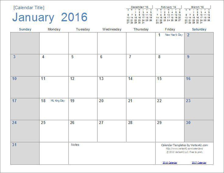 50 best Calendar template images on Pinterest | Calendar templates ...