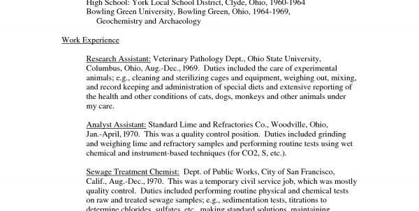 vet assistant resumes