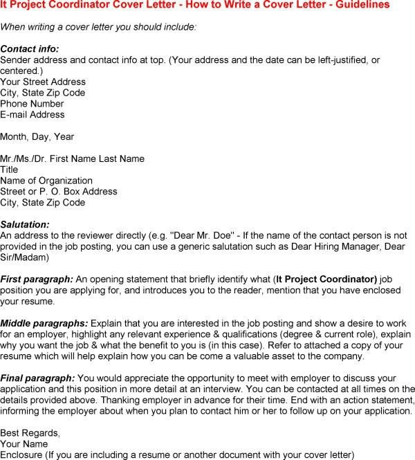 Cover Letter Example35 Throughout Project Management Sample 23 ...