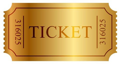 Vector Gold ticket design elements 03 - Vector Other free download