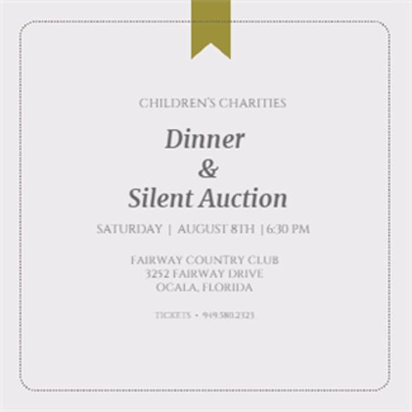 Invitation Wording Charity Events - Wedding Invitation Sample