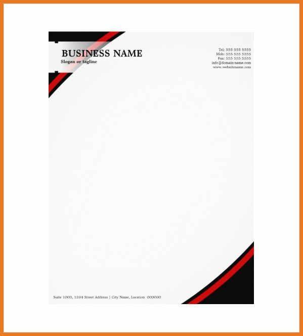 company letterhead example | art resume skills