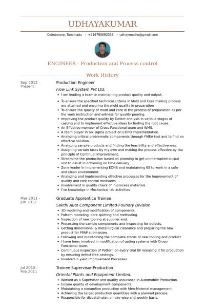 Post Production Engineer Sample Resume | haadyaooverbayresort.com