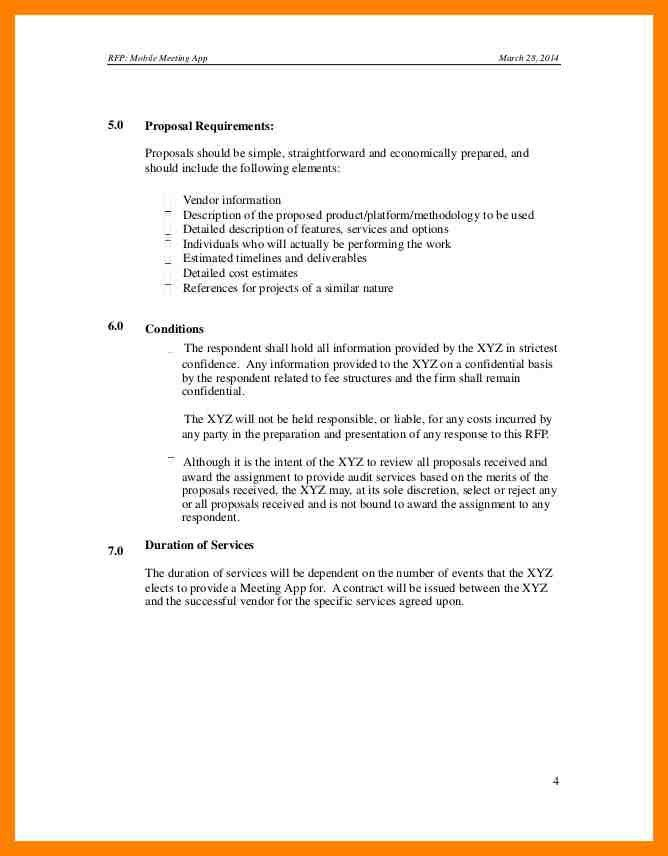 Rfq Template Word. 6 request for quotation example forklift resume ...