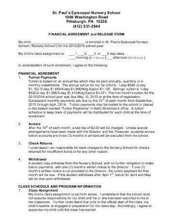 Financial Release Form. Property Damage Release Form Sample 8+ ...