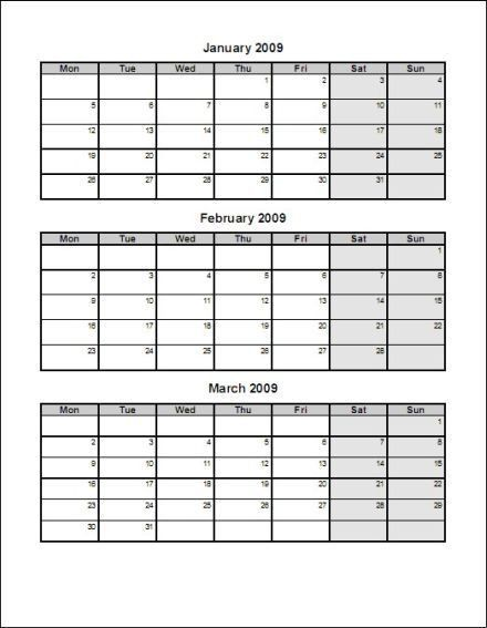 2016 Calendar Templates Download 2016 Monthly & Yearly Templates ...