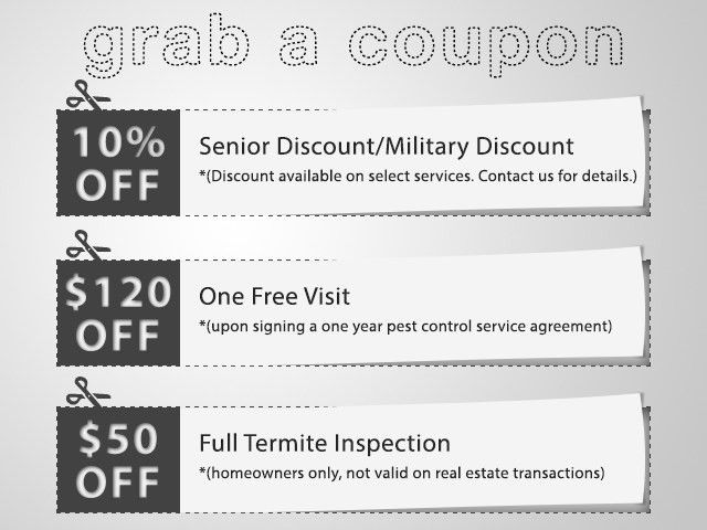 Coupons - Hydrex Pest Control of the North Bay | Termite and Pest ...