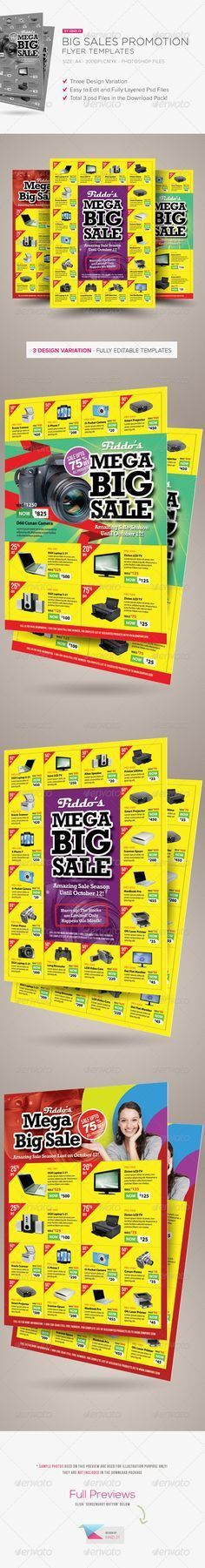 Product Promotion Flyer Print Templates   Flyer printing, Print ...