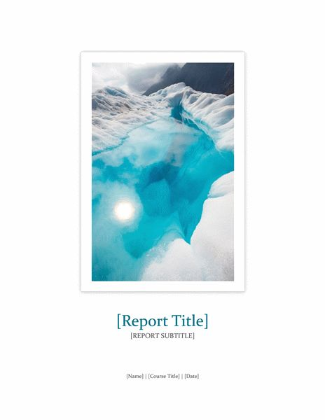 Project Report Format | Microsoft Word Templates