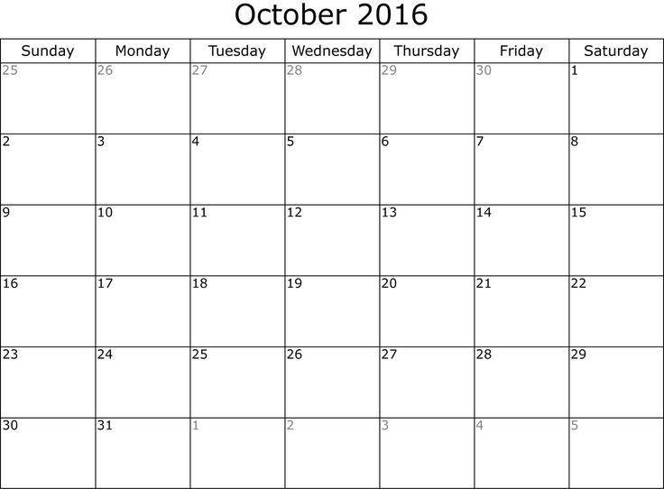 10 best September 2016 Calendar images on Pinterest | Calendar ...