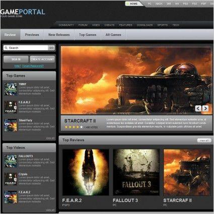 33+ Amazing Gaming Website Templates Free & Premium - wpfreeware