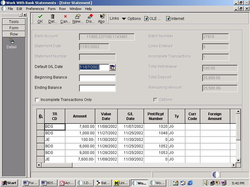 Company Bank Reconciliation Example | Accounting Education
