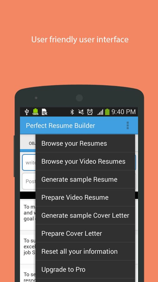 Perfect Resume Builder - Android Apps on Google Play