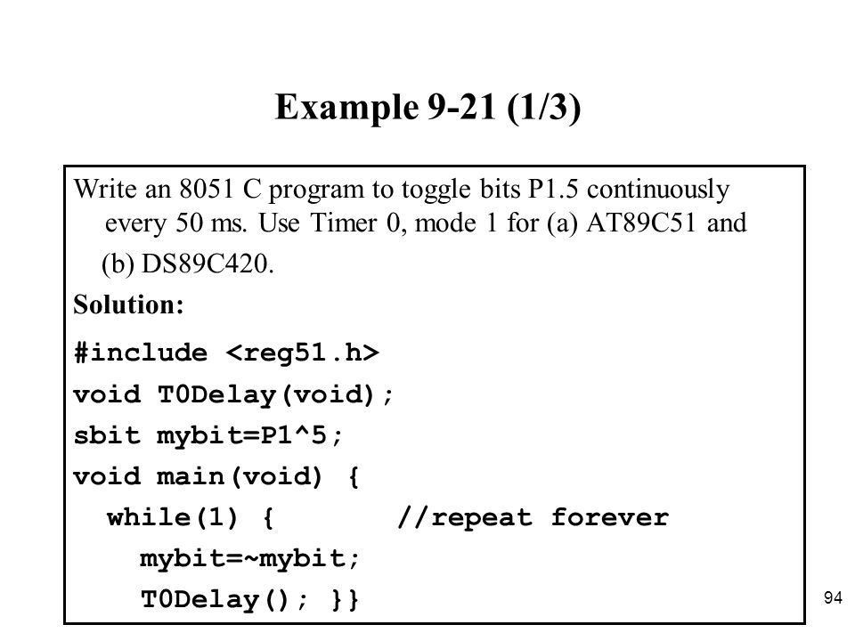 Chapter Timer Programming in Assembly and C - ppt download