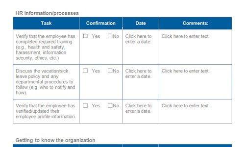 Best-practice onboarding checklists   Download toolkit