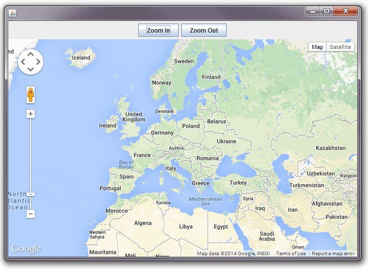 Google Maps in Java Swing Application - DZone Java
