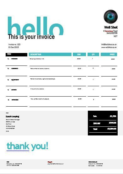 40 best Invoice templates images on Pinterest | Invoice template ...