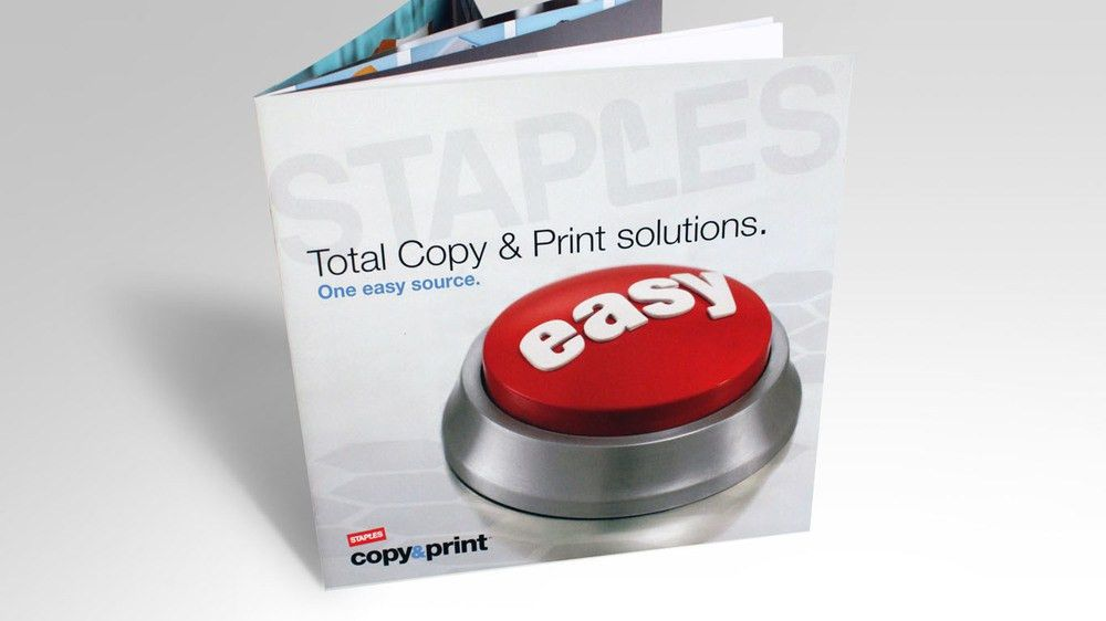 Staples Copy & Print — Ora Brand Strategy + Design