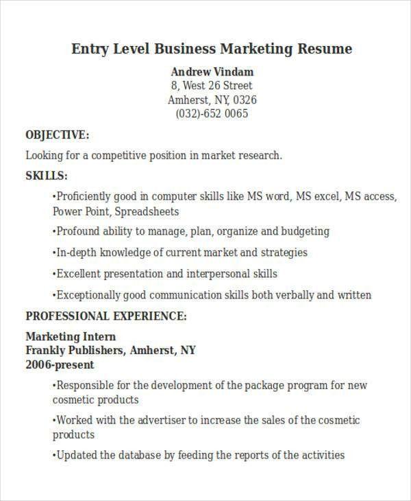 50+ Business Resume Examples | Free & Premium Templates
