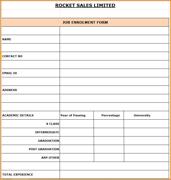 10+ group joining form sample | Invoice Template Download
